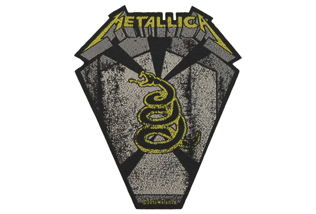 Official Band Merch | Metallica - Pit Boss Woven Patch