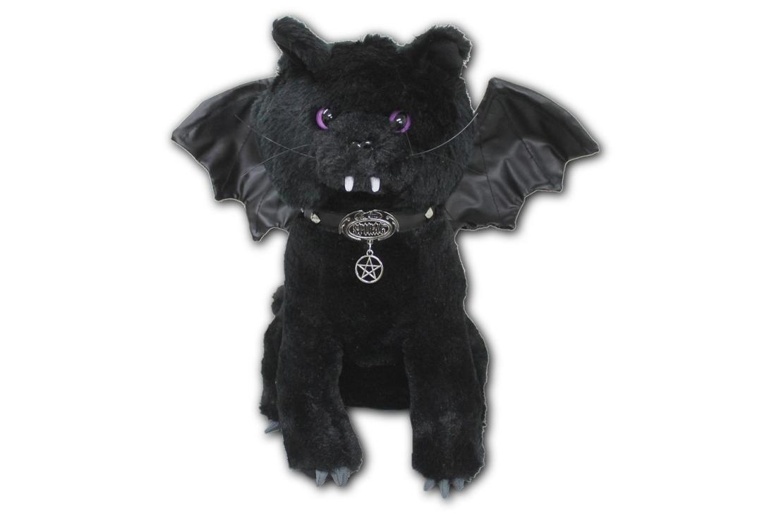 Spiral | Bat Cat Plush Toy - Front View
