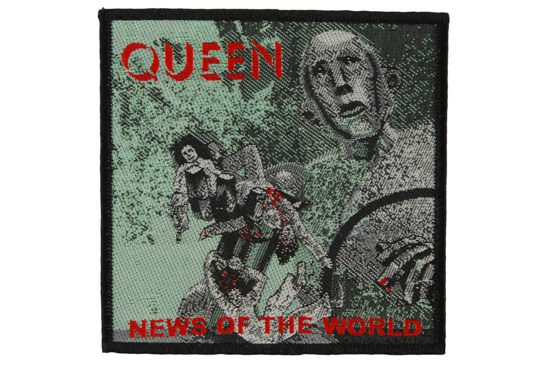 Official Band Merch | Queen - News Of The World Woven Patch