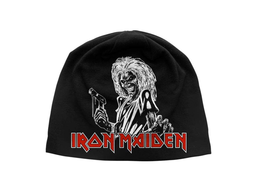 Official Band Merch | Iron Maiden - Killers Discharge Printed Jersey Beanie