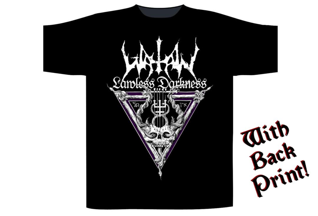 Official Band Merch | Watain - Lawless Darkness Men's Short Sleeve T-Shirt - Front View