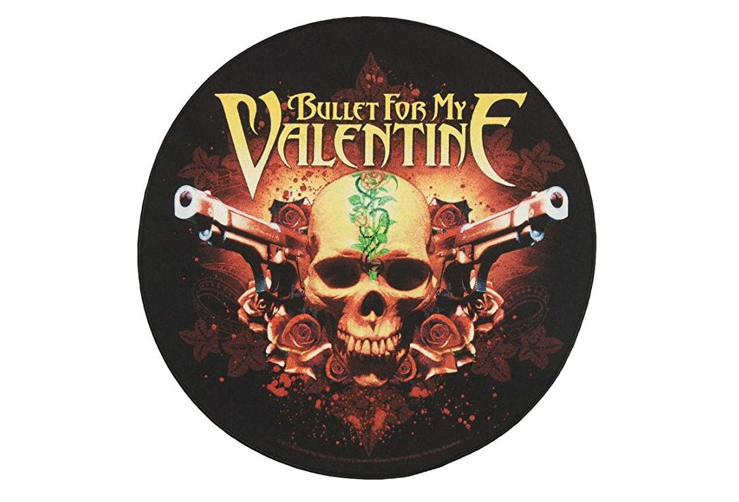 Official Band Merch | Bullet For My Valentine - Two Pistols Printed Back Patch