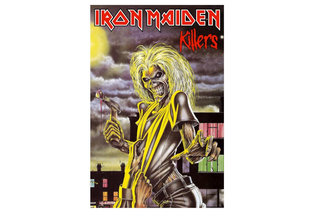 Official Band Merch | Iron Maiden - Killers Printed Textile Poster