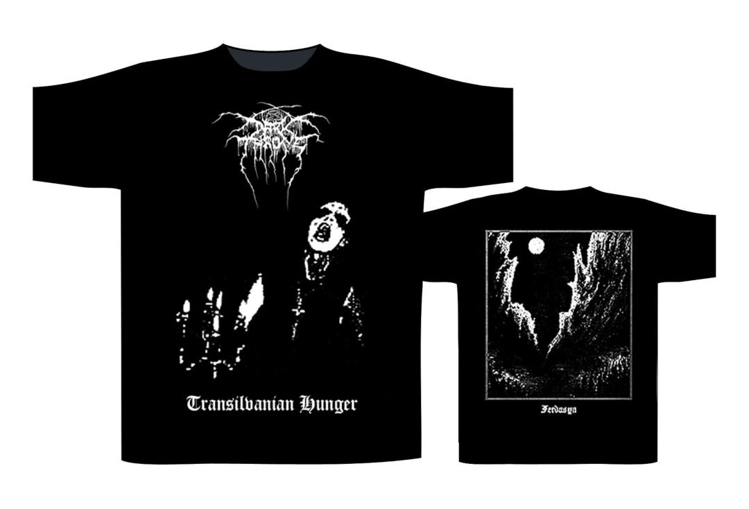 Official Band Merch | Darkthrone -  Transilvanian Hunger Men's Short Sleeve T-Shirt