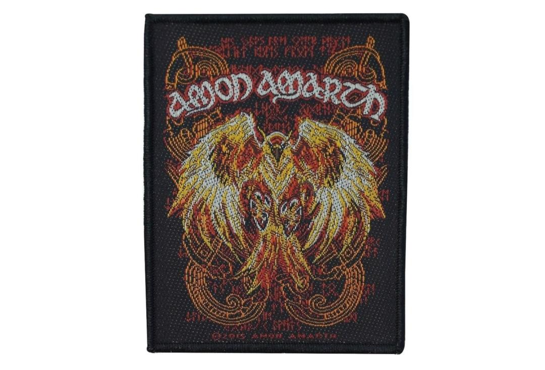 Official Band Merch | Amon Amarth - Phoenix Woven Patch