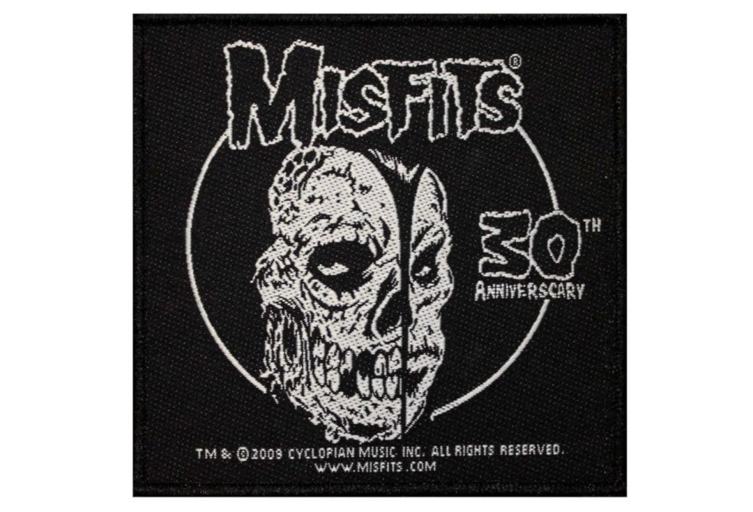 Official Band Merch | Misfits - 30th Anniversary Woven Patch
