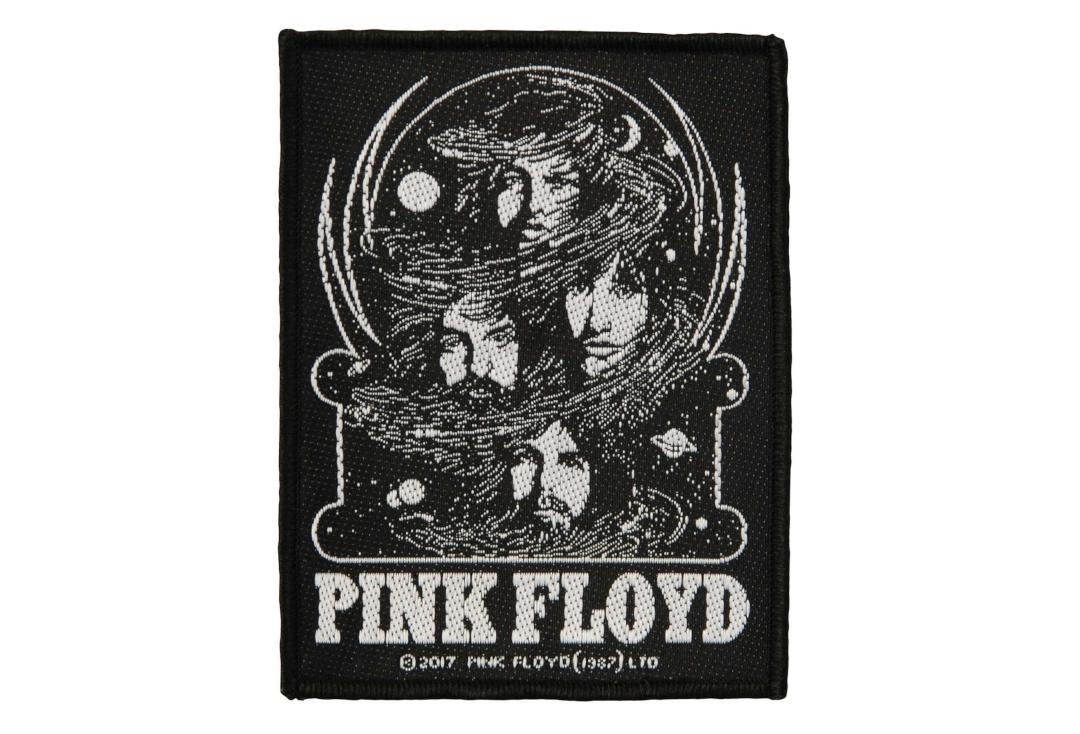 Official Band Merch | Pink Floyd - Cosmic Faces Woven Patch