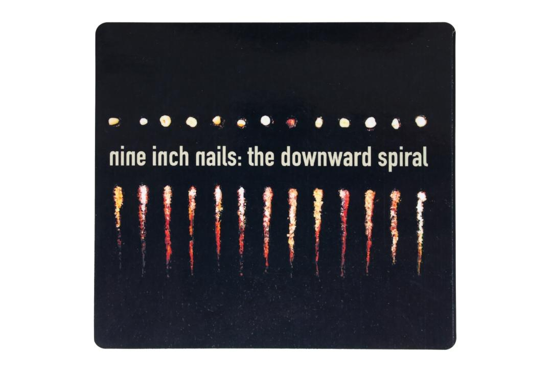 Official Band Merch | Nine Inch Nails - The Downward Spiral Vinyl Sticker