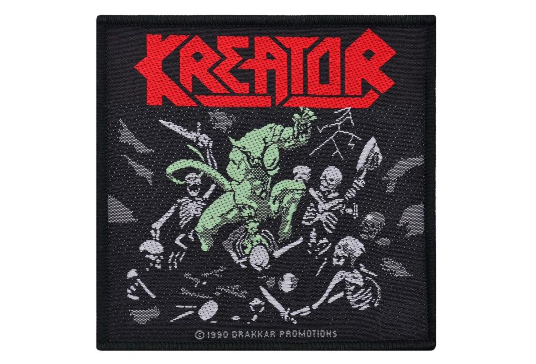 Official Band Merch | Kreator - Pleasure To Kill Woven Patch