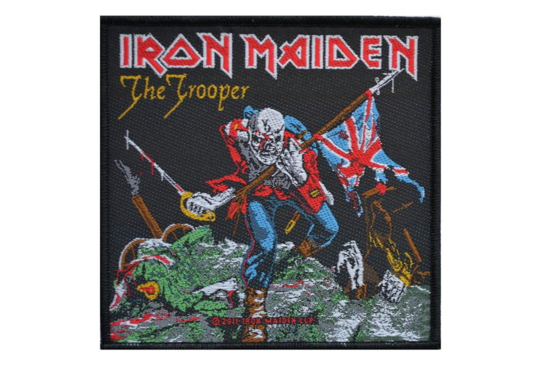 Official Band Merch | Iron Maiden - The Trooper Woven Patch