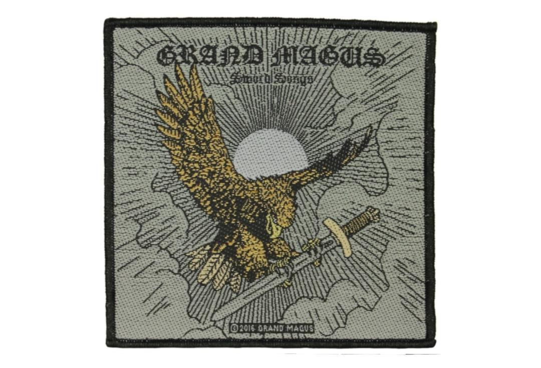 Official Band Merch | Grand Magus - Sword Songs Woven Patch