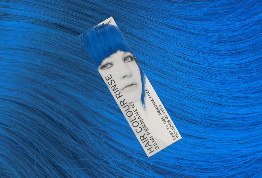 Stargazer | Coral Blue Semi-Permanent Hair Colour