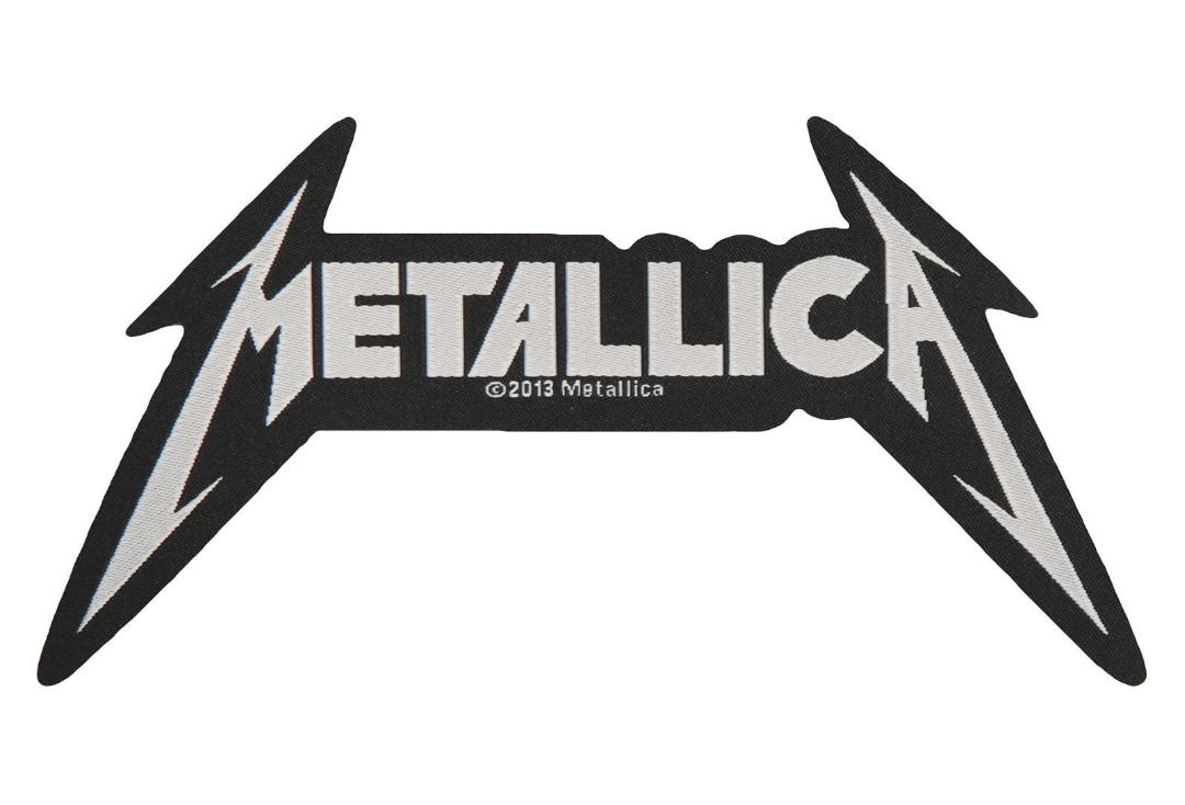 Official Band Merch | Metallica - Cut Out Logo Woven Patch
