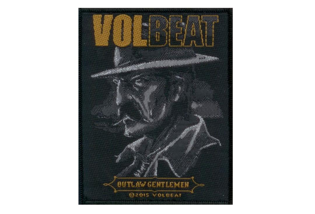 Official Band Merch | Pantera - Volbeat - Outlaw Gentlemen Woven Patch