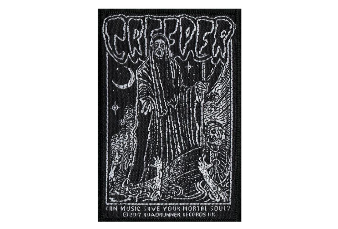 Official Band Merch | Creeper - Can Music Save Your Mortal Soul Woven Patch