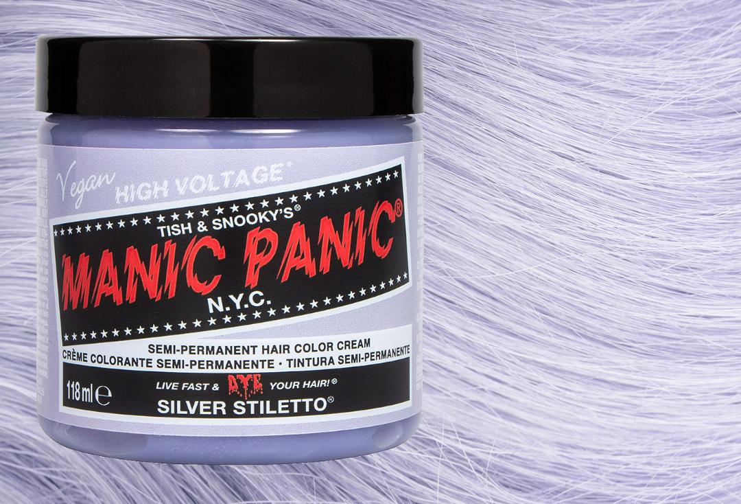 Manic Panic | Silver Stiletto High Voltage Classic Cream Hair Colour