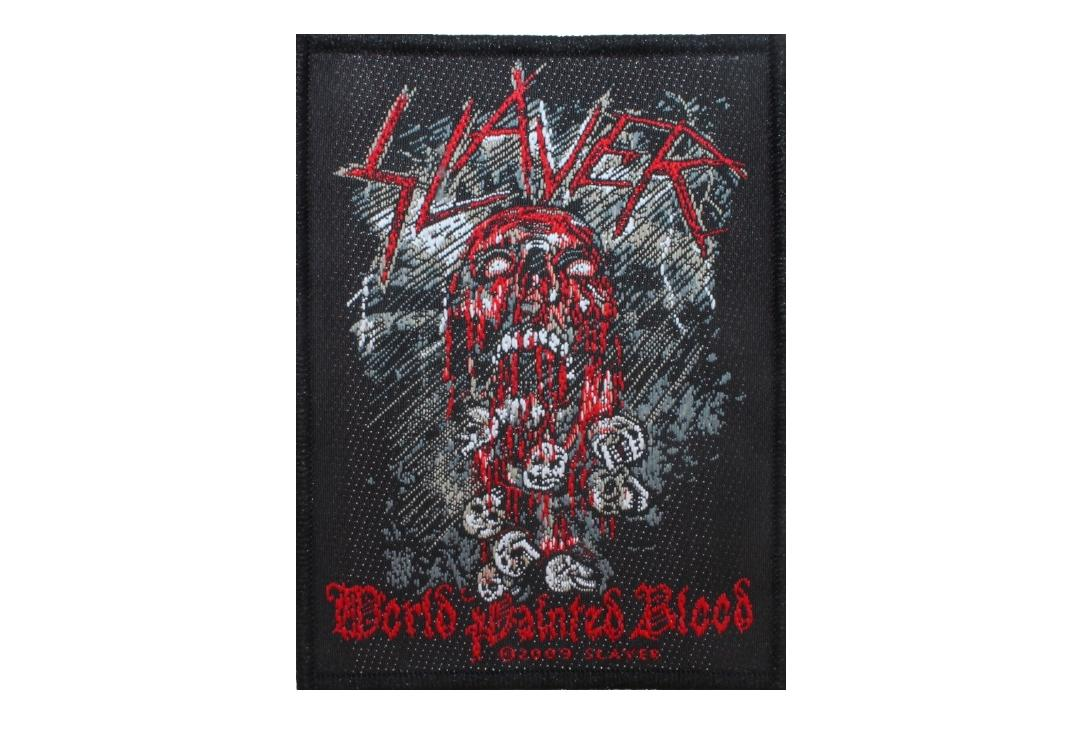 Official Band Merch |   Slayer - World Painted Blood Woven Patch