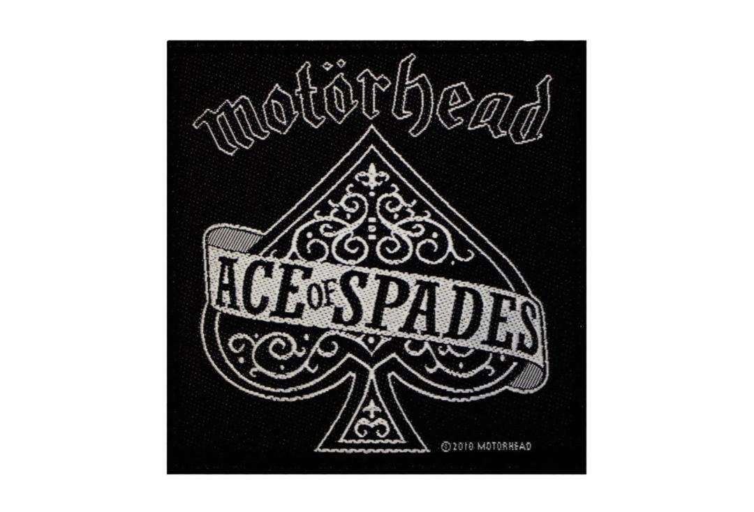 Official Band Merch | Motorhead - Ace Of Spades Woven Patch