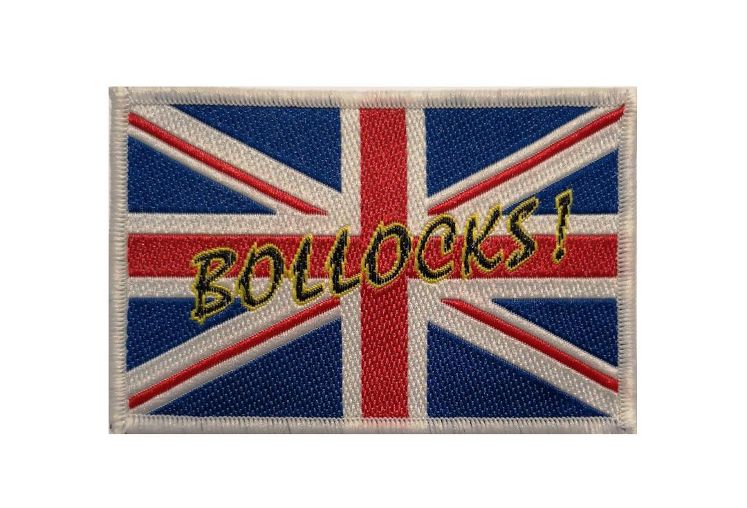 Official Band Merch | Union Jack Bollocks Woven Patch