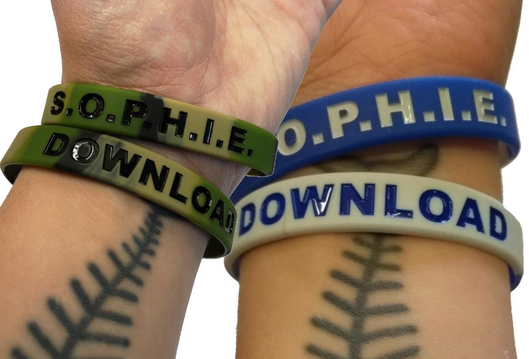 Sophie Lancaster Foundation | Download Festival SOPHIE Wristband - Collage