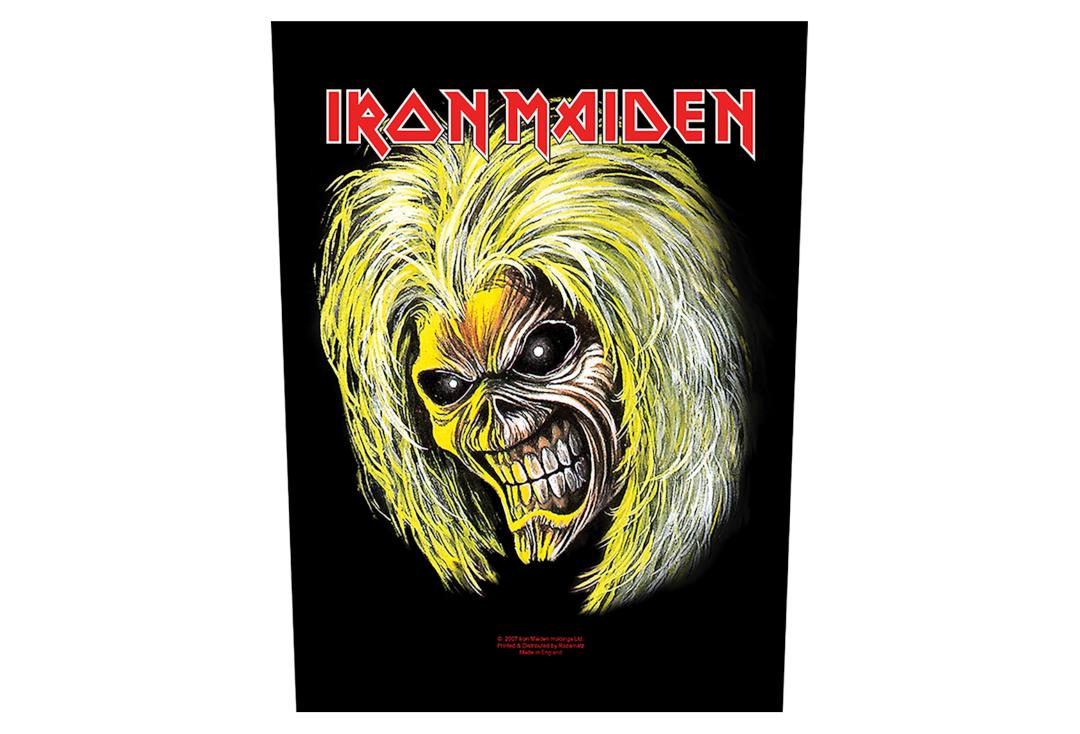 Official Band Merch | Iron Maiden - Killers/Eddie Printed Back Patch