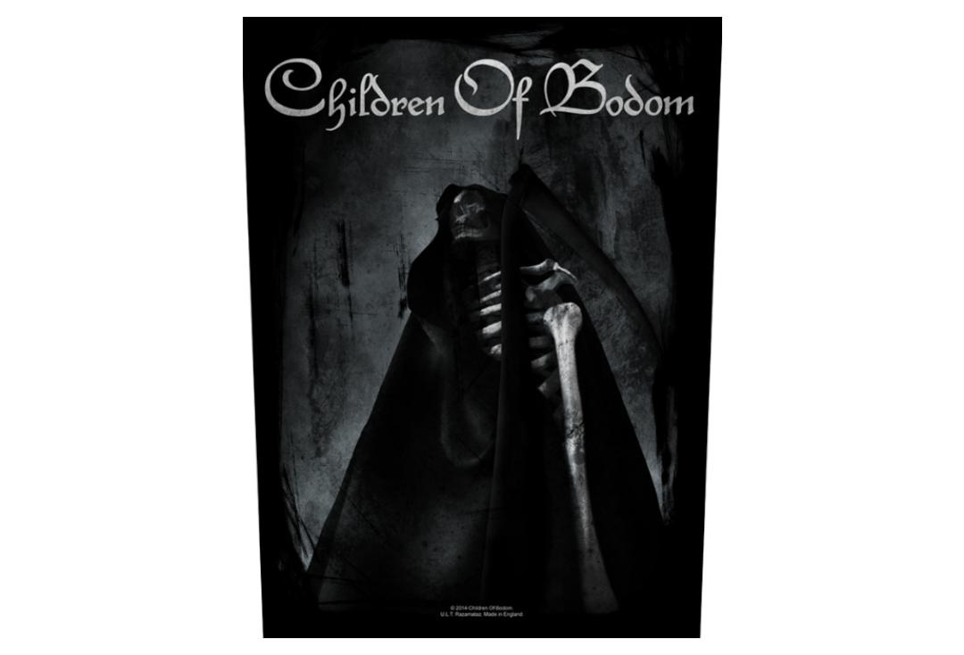 Official Band Merch | Children Of Bodom - Fear The Reaper Printed Back Patch  - With Slight Flaw