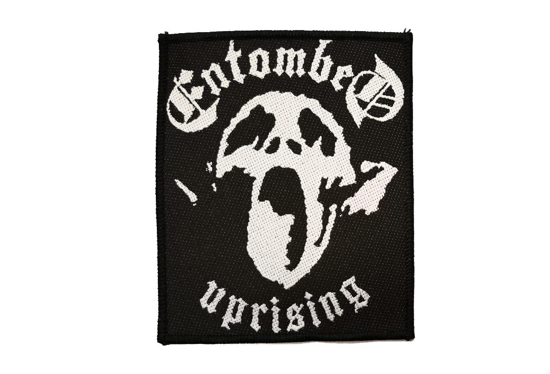 Official Band Merch | Entombed - Uprising Woven Patch