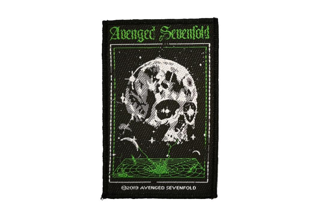 Official Band Merch | Avenged Sevenfold - Vortex Skull Woven Patch