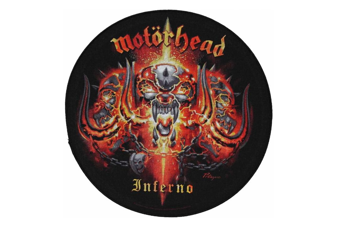 Official Band Merch | Motorhead - Inferno Printed Back Patch