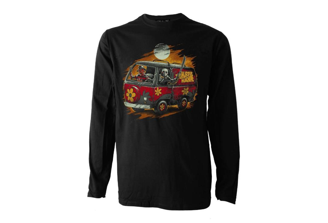 Darkside Clothing | Horror Machine Long Sleeve Men's T-Shirt