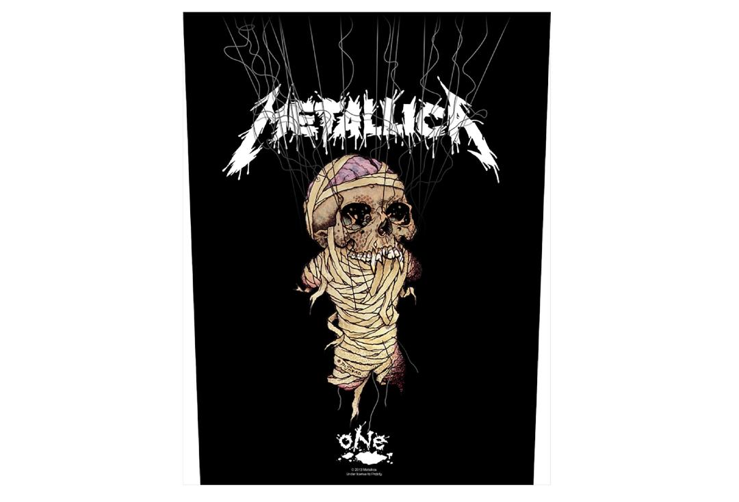 Official Band Merch | Metallica - One/Strings Printed Back Patch