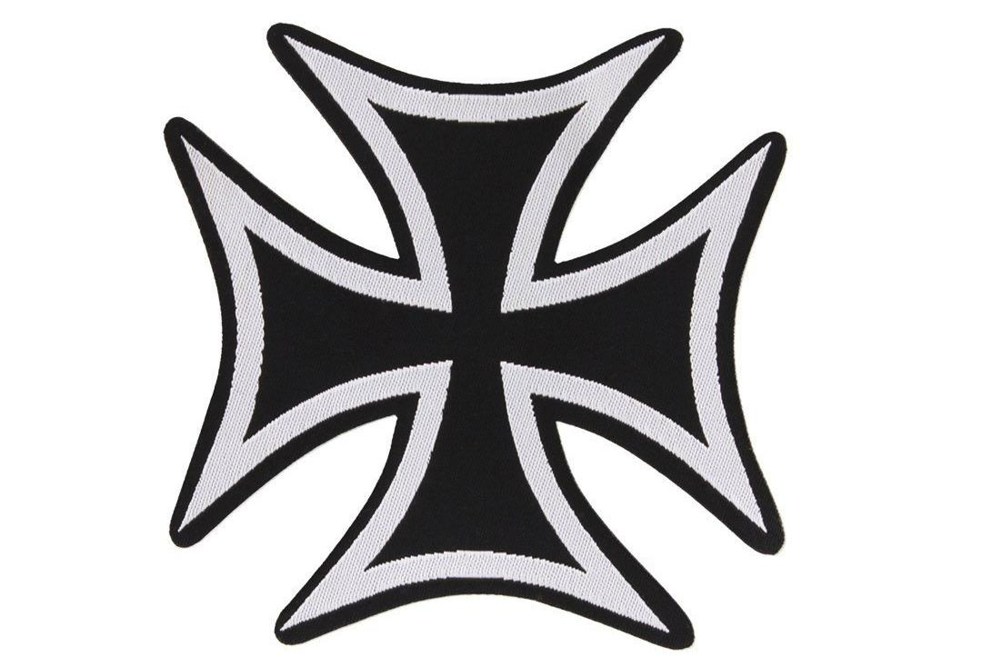 Official Band Merch | Iron Cross Woven Patch