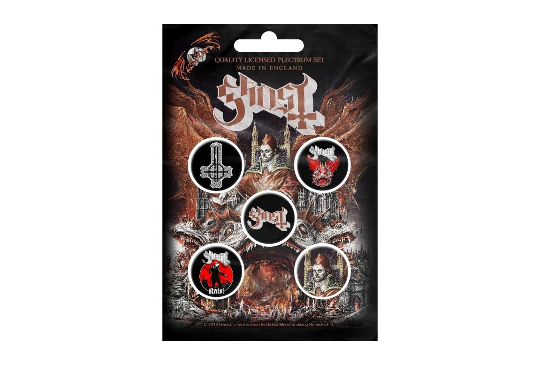 Official Band Merch | Ghost - Prequelle Button Badge Pack