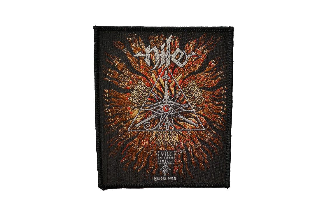 Official Band Merch | Nile - Vile Nilotic Rites Woven Patch