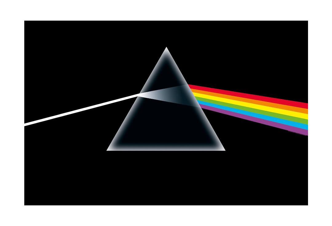 Official Band Merch | Pink Floyd - Dark Side Of The Moon Printed Textile Poster