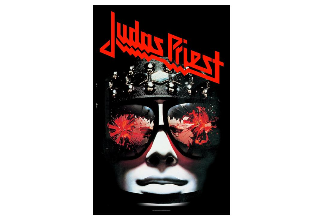 Official Band Merch | Judas Priest - Hell Bent For Leather Printed Textile Poster