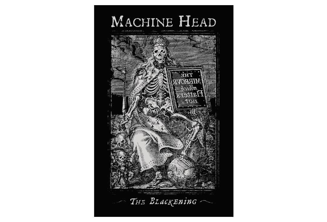 Official Band Merch | Machine Head - The Blackening Printed Textile Poster