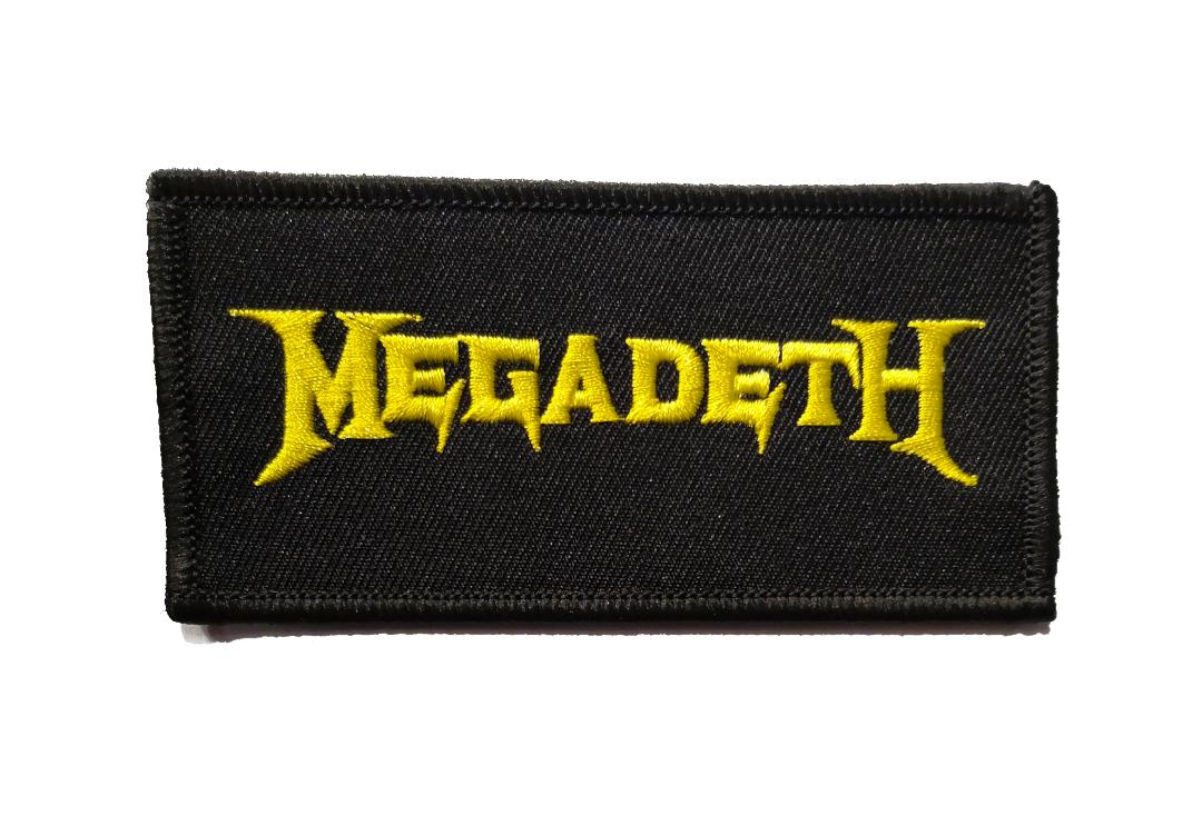 Official Band Merch | Megadeth - Logo Woven Patch