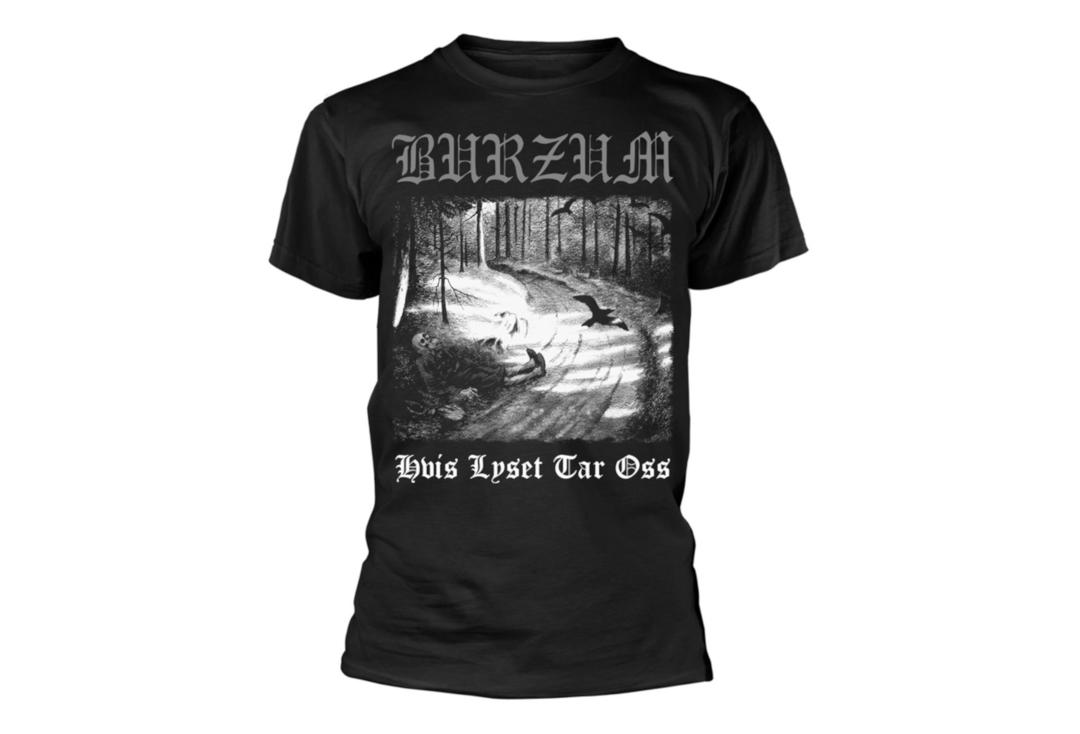 Official Band Merch | Burzum - Hvis Lyset Tar Oss Men's Short Sleeve T-Shirt