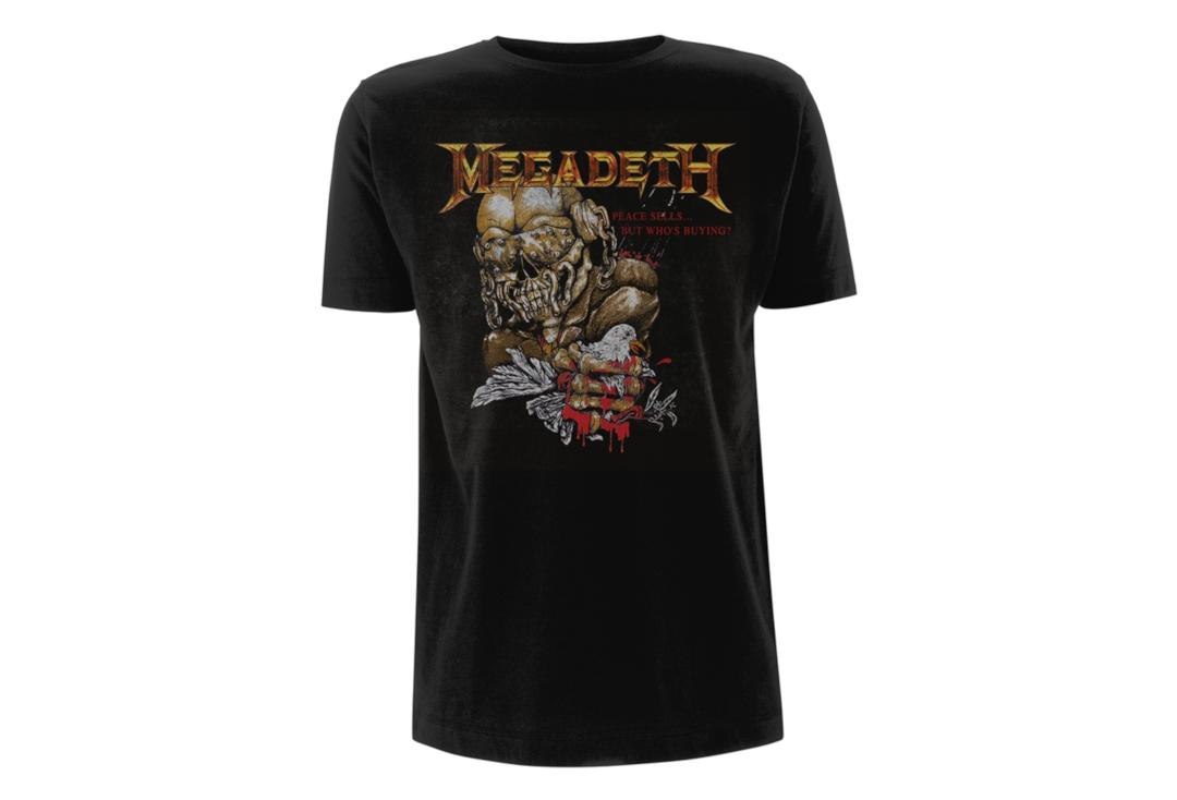 Official Band Merch | Megadeth - Peace Sells But Who's Buying Men's Short Sleeve T-Shirt