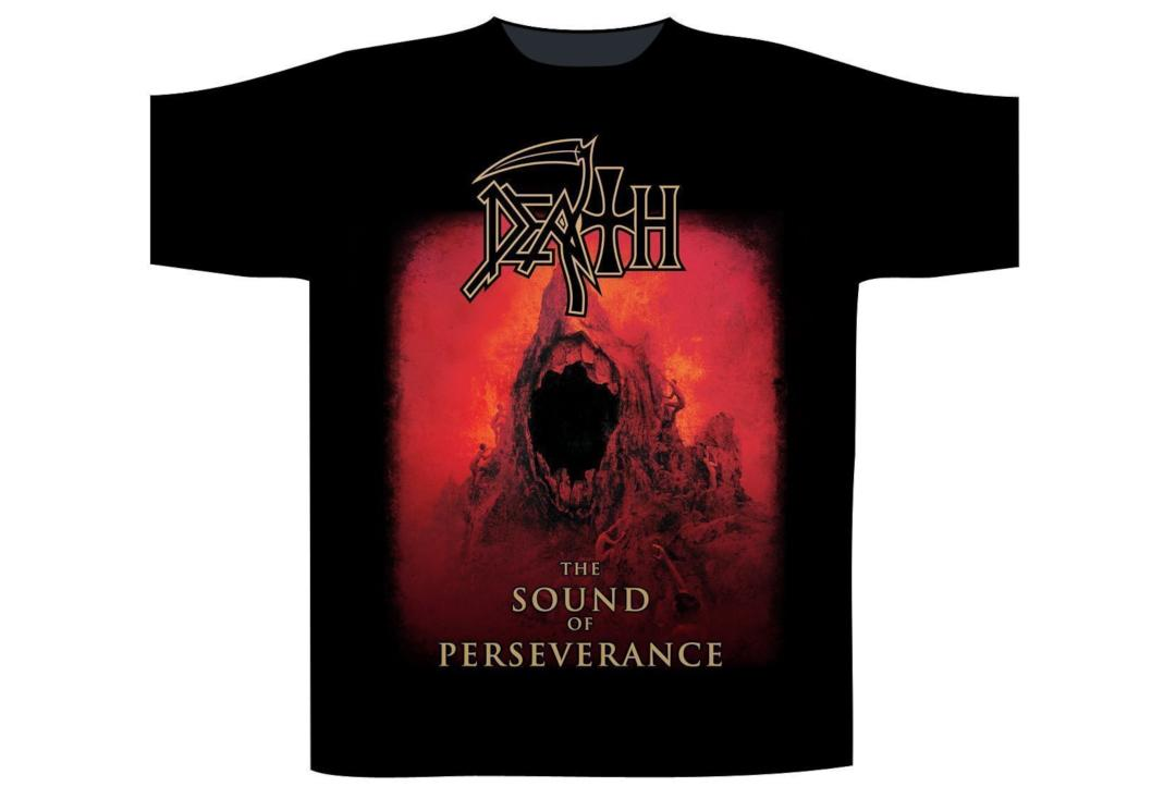 Official Band Merch | Death - The Sound Of Perseverance Men's Short Sleeve T-Shirt