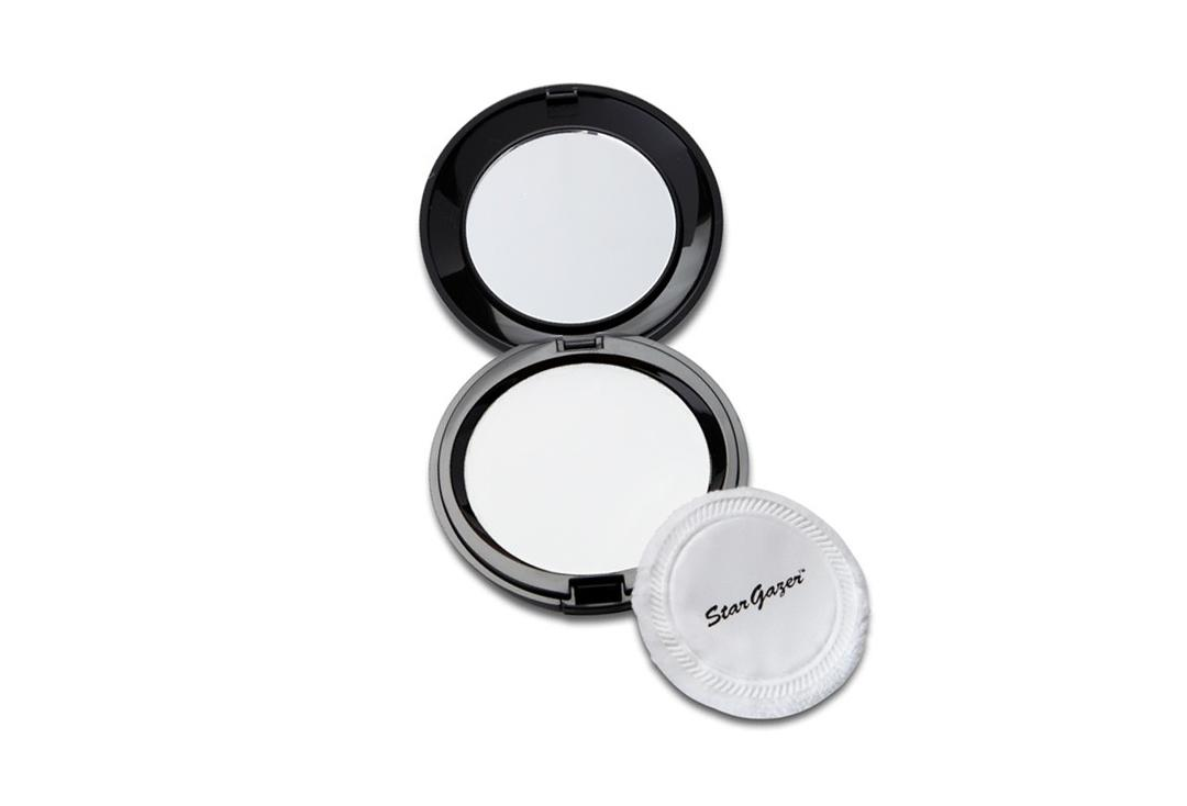 Stargazer | White Pressed Powder Compact