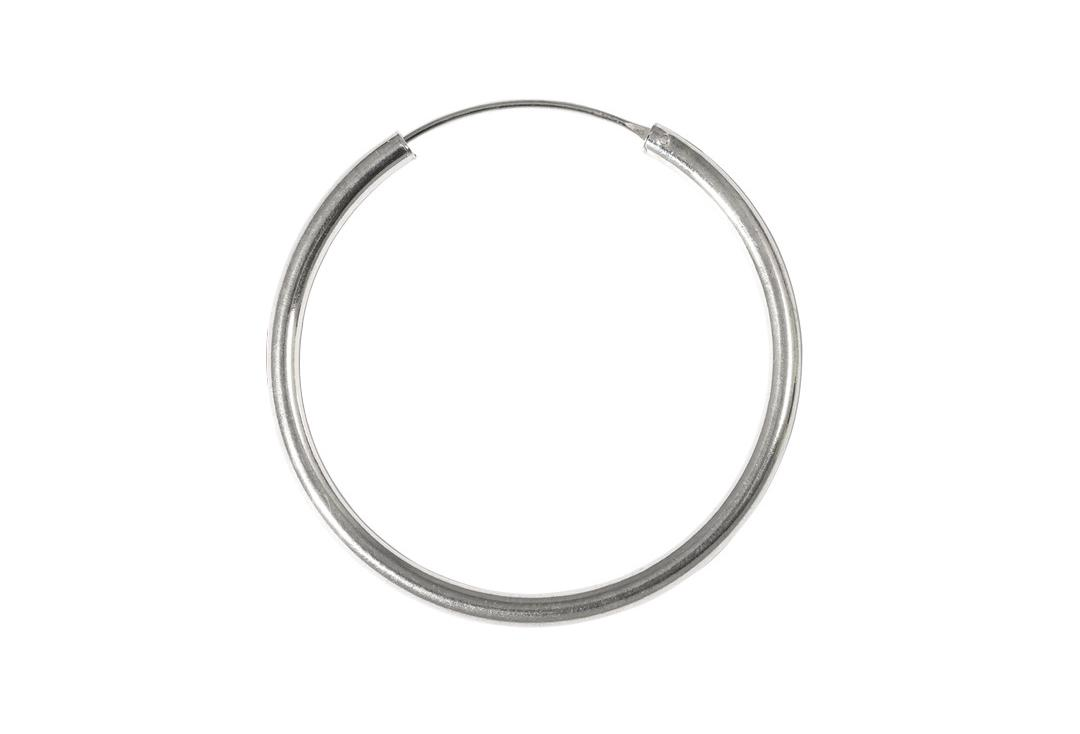 Body Jewellery | Sterling Silver Hinged Hoop Thick Gauge