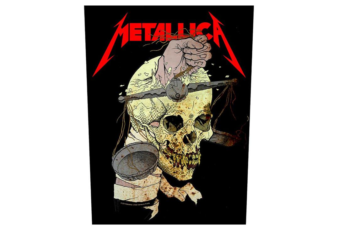 Official Band Merch | Metallica - Harvester Of Sorrow Printed Back Patch