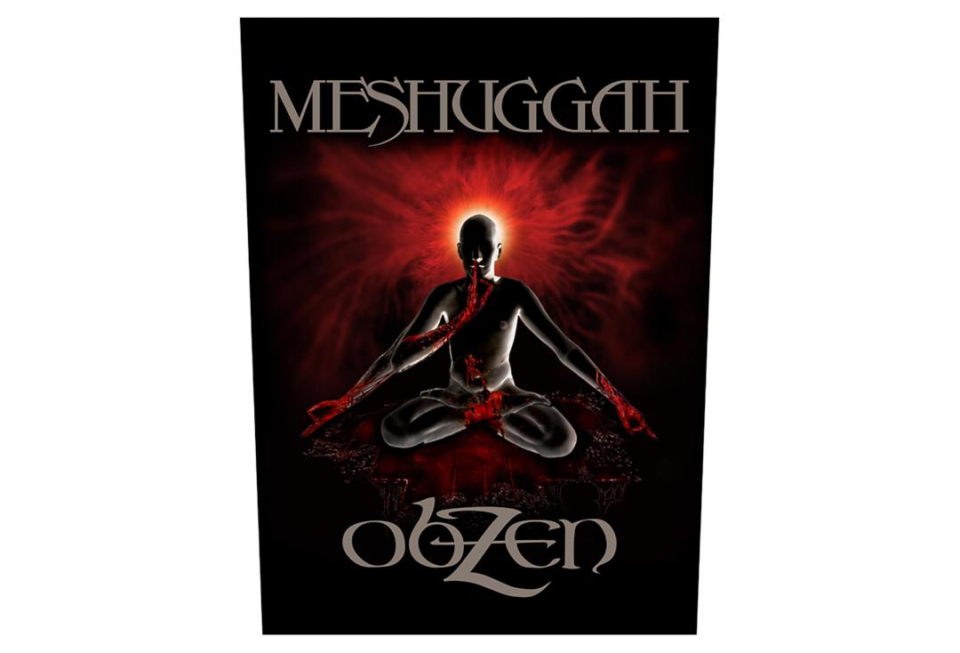 Official Band Merch | Meshuggah - Obzen Printed Back Patch