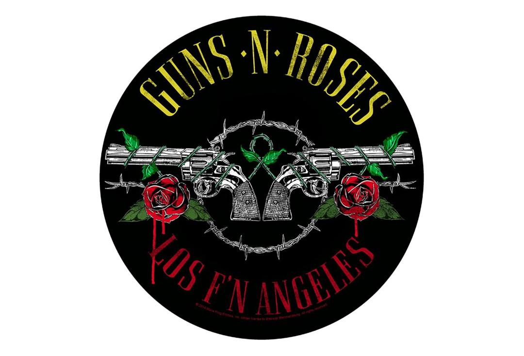 Official Band Merch | Guns 'N' Roses - Los F'N Angeles Printed Back Patch