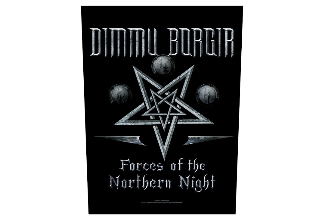 Official Band Merch | Dimmu Borgir - Forces Of The Northern Night Printed Back Patch