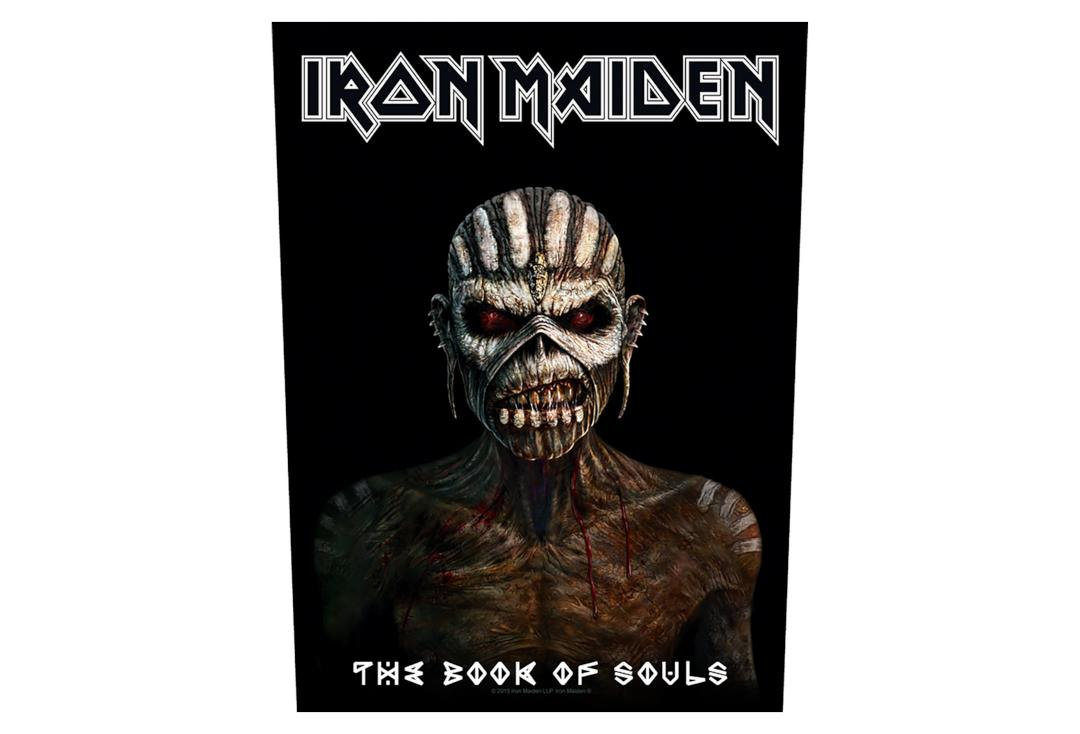Official Band Merch | Iron Maiden - The Book Of Souls Printed Back Patch