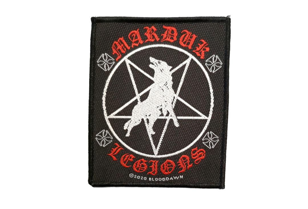 Official Band Merch | Marduk - Legions Woven Patch
