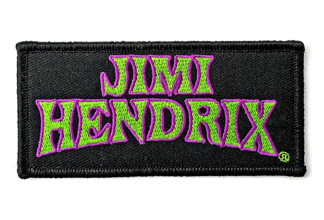 Official Band Merch | Jimi Hendrix - Arched Logo Woven Patch